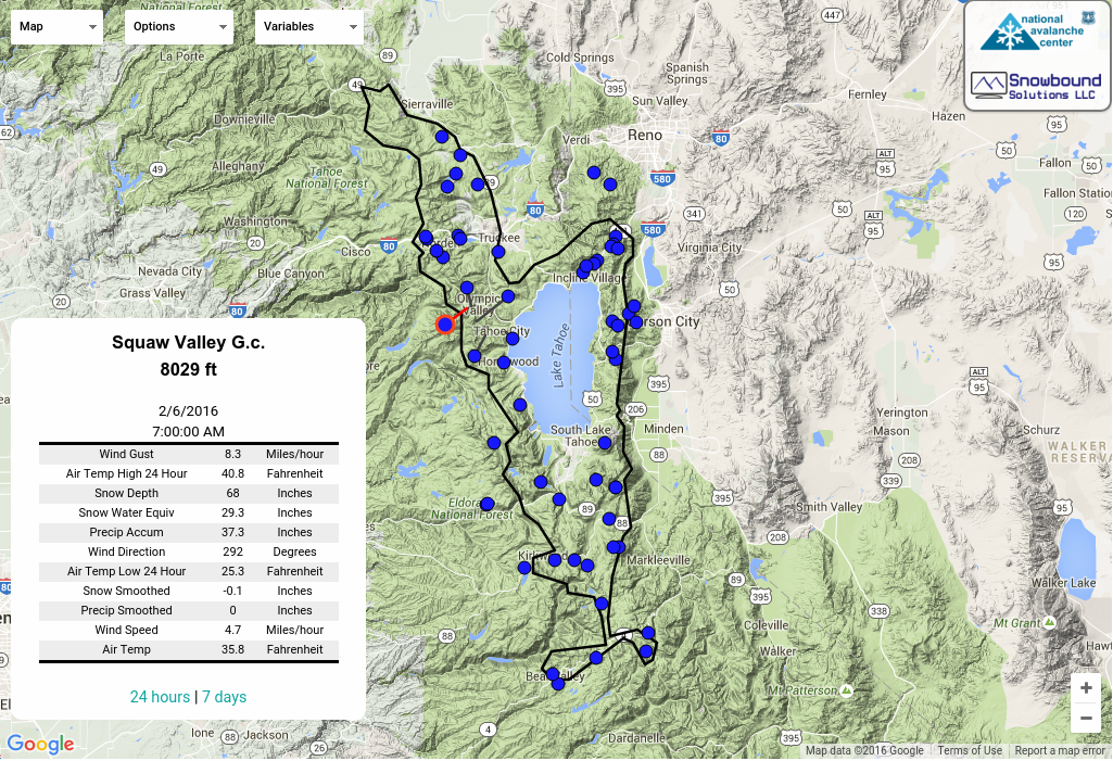Sierra Avalanche Center | Backcountry Avalanche, Snow, and Weather ...