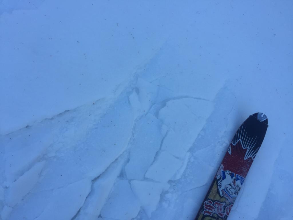 Breakable Crust on Andesite Ridge