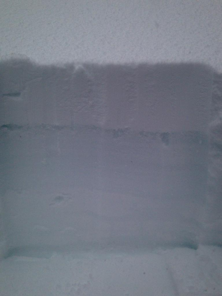 "15cm of new snow on top of <a href=""https://www.sierraavalanchecenter.org/avalanche-terms/rain-crust"" title=""A clear layer of ice formed when rain falls on the snow surface then freezes."" class=""lexicon-term"">rain crust</a>/rain saturated snow grains"