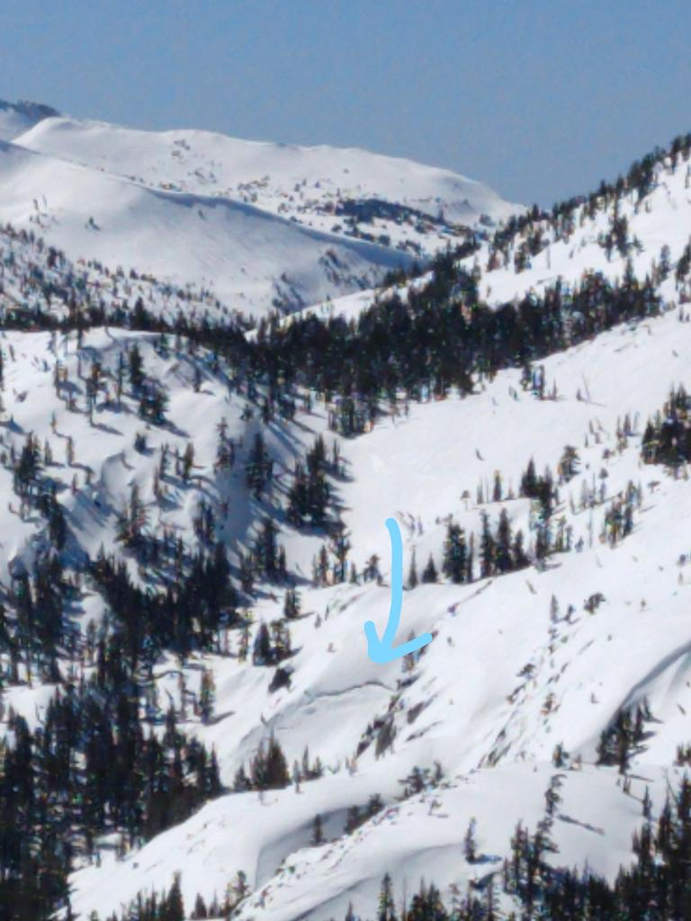 "<a href=""https://www.sierraavalanchecenter.org/avalanche-terms/glide"" title=""When the entire snowpack slowly moves as a unit on the ground, similar to a glacier."" class=""lexicon-term"">Glide</a> crack"