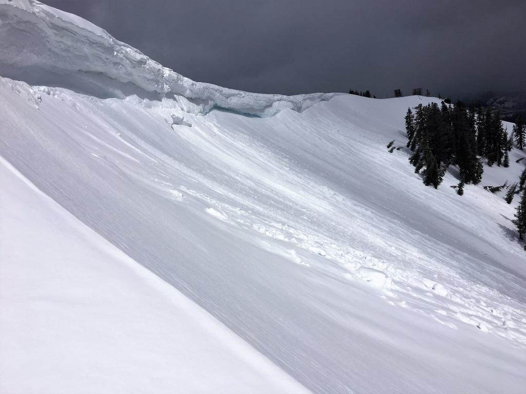 "The other side of the <a href=""/avalanche-terms/slab"" title=""A relatively cohesive snowpack layer."" class=""lexicon-term"">slab</a>"