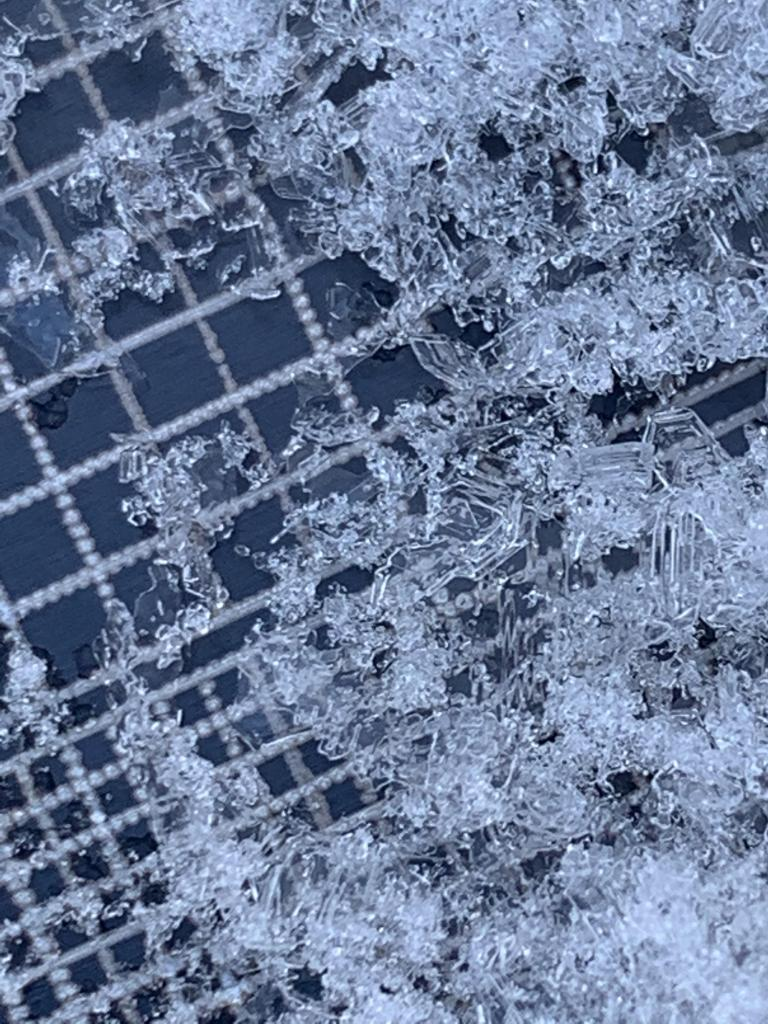 """Near Surface <a href=""""/avalanche-terms/faceted-snow"""" title=""""Angular snow with poor bonding created from large temperature gradients within the snowpack."""" class=""""lexicon-term"""">Facets</a> at 150cm down"""