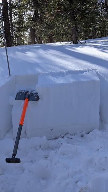 "ECTX on <a href=""/avalanche-terms/faceted-snow"" title=""Angular snow with poor bonding created from large temperature gradients within the snowpack."" class=""lexicon-term"">faceted</a> <a href=""/avalanche-terms/snow-layer"" title=""A snowpack stratum differentiated from others by weather, metamorphism, or other processes."" class=""lexicon-term"">layer</a> near ground."