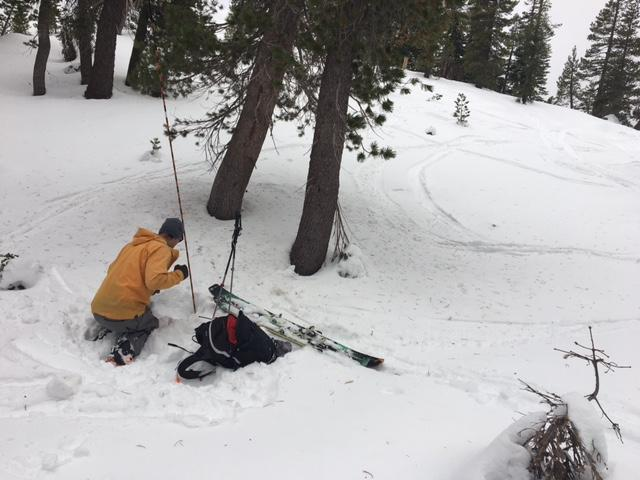 "Great opportunity for <a href=""/avalanche-terms/avalanche"" title=""A mass of snow sliding, tumbling, or flowing down an inclined surface."" class=""lexicon-term"">avalanche</a> rescue practice."