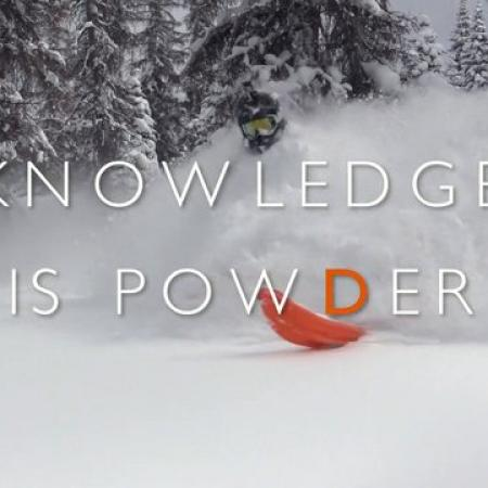 Knowledge Is Powder - Snowmobiling